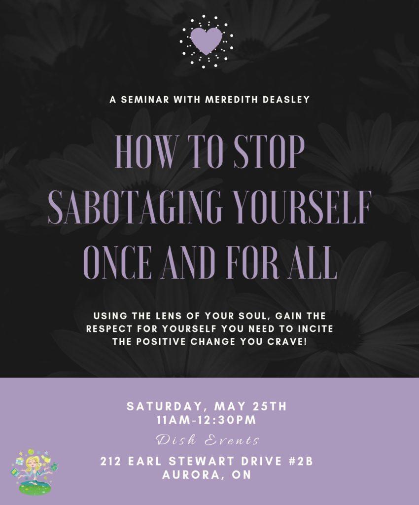 Stop Self-Sabotaging