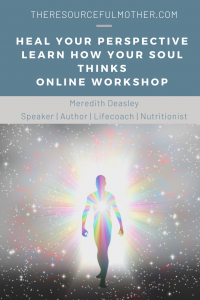 Promotional image for the Heal Your Perspective Online Workshop.
